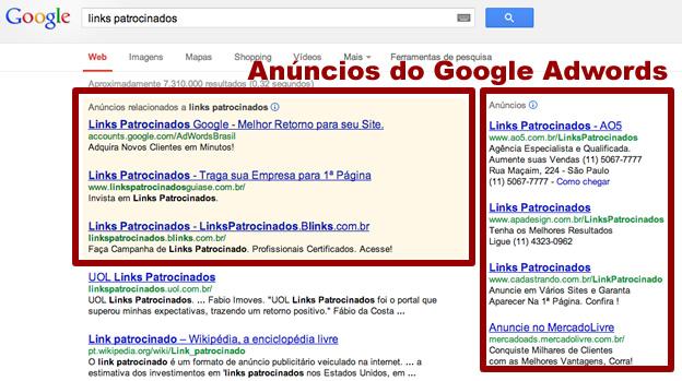 Anúncios do Google AdWords