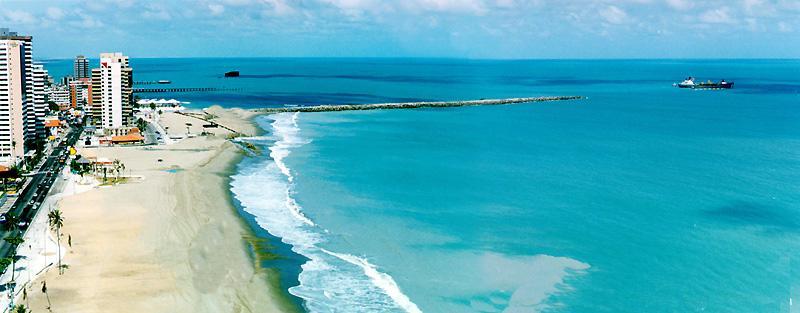 Famosa Praia de Iracema - Fortaleza